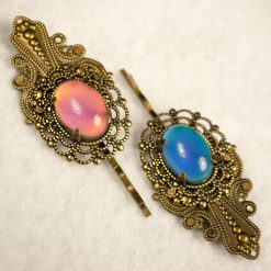brass-mood-stone-resin-hair-bobby-pin-1