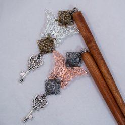 main-butterflies-key-stick-brass-silver-copper